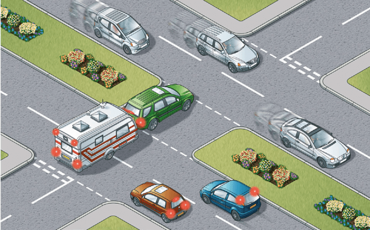 Rule 173: Assess your vehicle's length and do not obstruct traffic