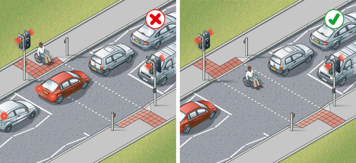 Rule 192: Keep the crossing clear